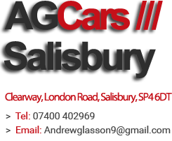 AG Cars Larkhill - Used Cars Larkhill, Andover, Amesbury, Tidworth, Dorset, Wiltshire and Salisbury