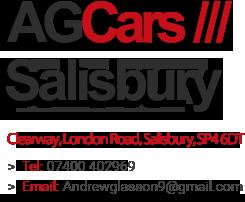 AG Cars Larkhill - Used Cars Larkhill, Andover, Amesbury, Tidworth, Dorset, Wiltshire and Salisbury